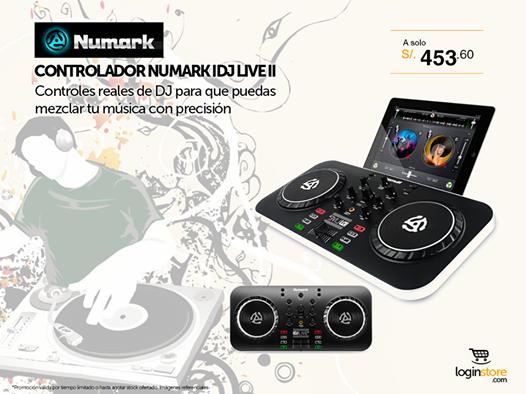Controles de DJ a sólo S/. 453.60