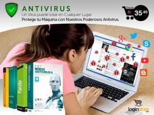 Antivirus desde S/.35.40