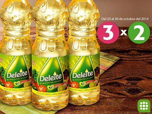 3 x 2 en aceite DELEITE