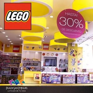 Hasta 30% de descuento en LEGO