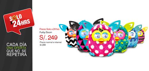 Furby a sólo S/. 249.00