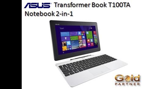 ASUS Transformer Book T100TA a S/. 1,371