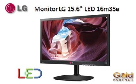 """Monitor LG 15.6"""" LED 16m35a a S/. 265"""