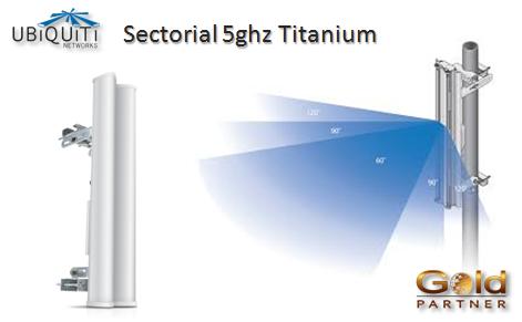 Antena Ubiquiti Networks airMAX Titanium a S/. 901