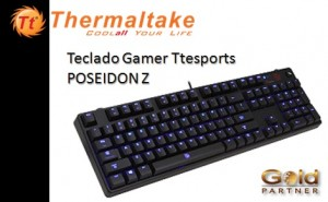 Teclado Gamer Ttesports POSEIDON Z a S/. 253