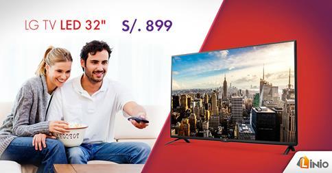 LG TV LED 32″ a sólo 899