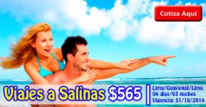 Paquete Turístico a Salinas desde $565