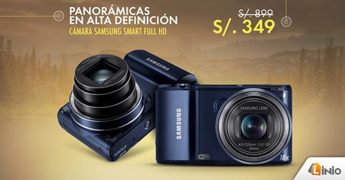 Cámara Samsung Smart full HD a sólo S/. 349