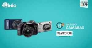 15% de descuento en cámaras