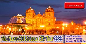 Año Nuevo 2015 Cusco City Tour desde $383.00