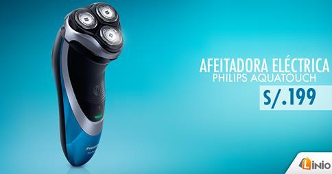 Afeitadora Philips Aquatouch a sólo S/.199