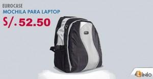 Mochila para Laptop EuroCase a sólo S/. 52.50