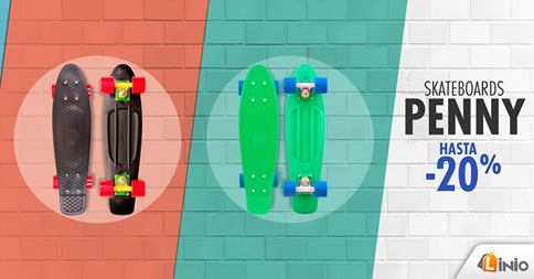 Skateboards con un 20% de descuento