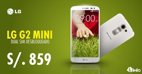 LG G2 Mini 8GB desbloqueado a sólo S/.859