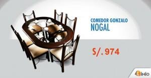 Comedor Gonzalo Nogal a sólo S/.974
