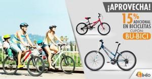 15% de descuento en bicicletas – Linio