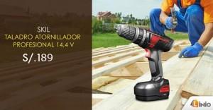 Taladro atornillador profesional a sólo S/.189