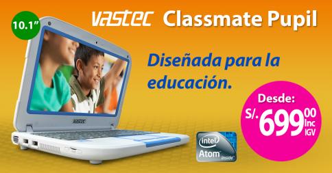Vastec Classmate desde S/.699