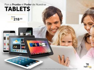 Tablets desde S/. 218.80