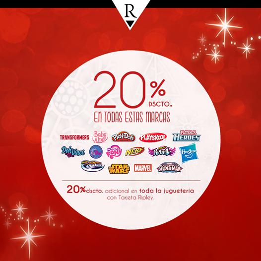 Un 20% de descuento en juguetes