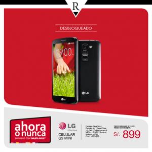 LG G2 Mini a sólo S/. 899.00