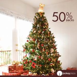 Árboles de Navidad con un 50% de descuento