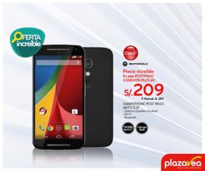 Motorola G5 a sólo S/. 209.00