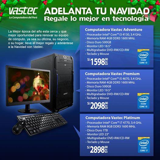 Computadoras desde S/. 1598.00