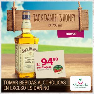 Jack Daniel's Honey a sólo S/. 94.90