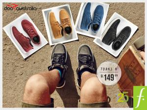 Zapatos a sólo S/. 149.00