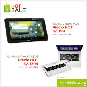 Tablet AOC a sólo S/. 199.00