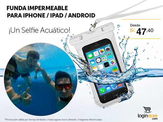 Funda impermeable desde S/. 47.40