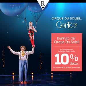 10% de descuento en entradas para Cirque Du Soleil