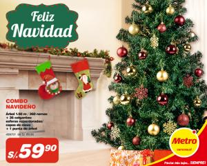 Árbol de Navidad a sólo S/. 59.90