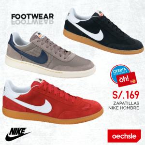 Zapatillas Nike a sólo S/. 169.00