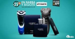 25% de descuento en accesorios para afeitar