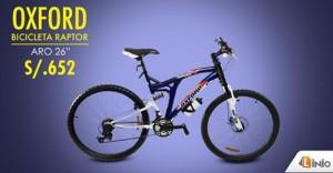 Bicicleta Oxford a sólo S/. 652.00