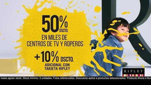 Hasta un 50% de descuento en centros de TV