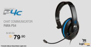 Comunicador para PS4 a sólo S/. 79.90