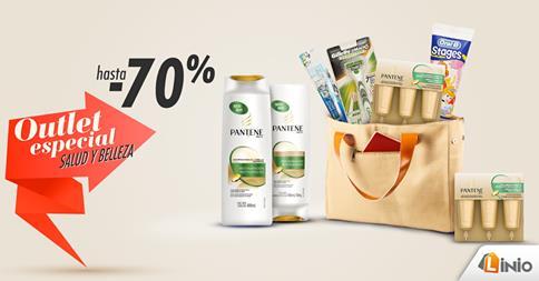 Hasta un 70% de descuento en productos de salud y belleza