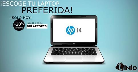 20% de descuento en laptops