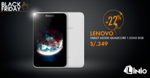 Tablet Lenovo a sólo S/. 349.00