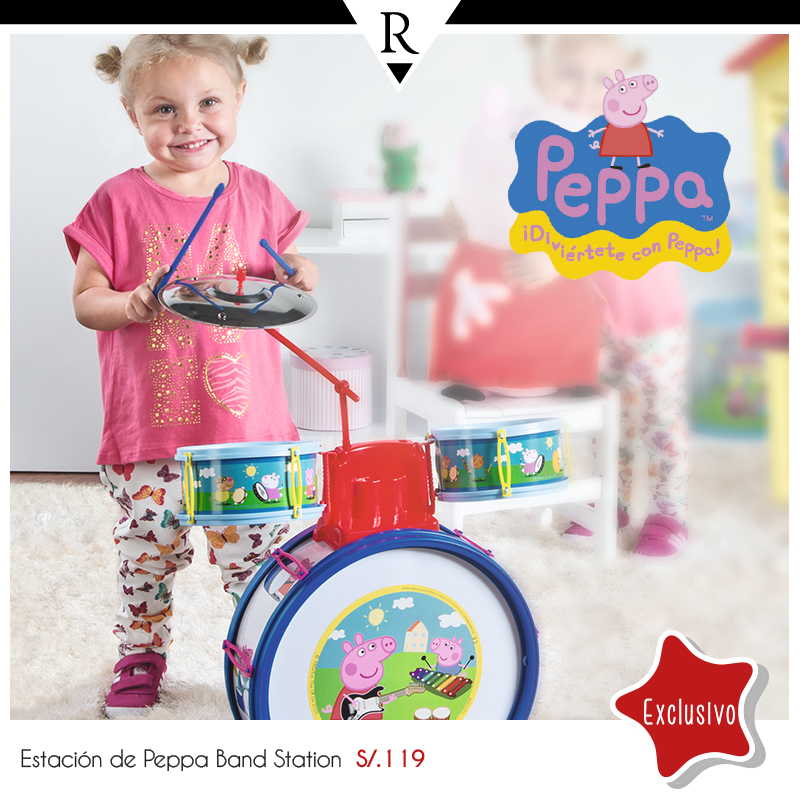 Peppa Pig Band Station a sólo S/. 119.00