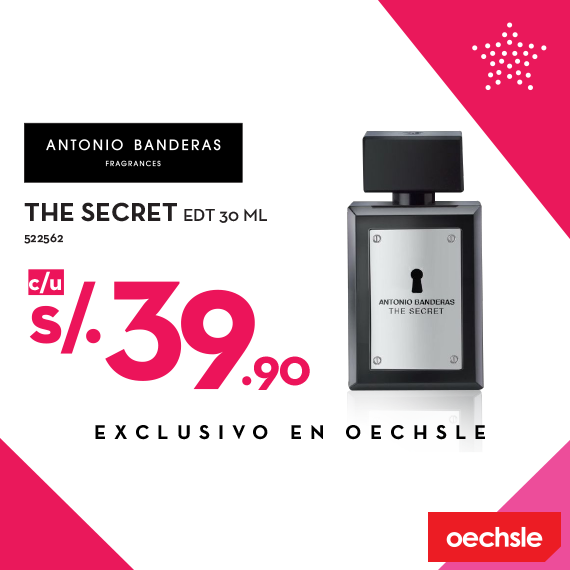 Fragancia The Secret a sólo S/. 39.90