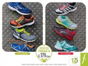Zapatillas a sólo S/. 179.00