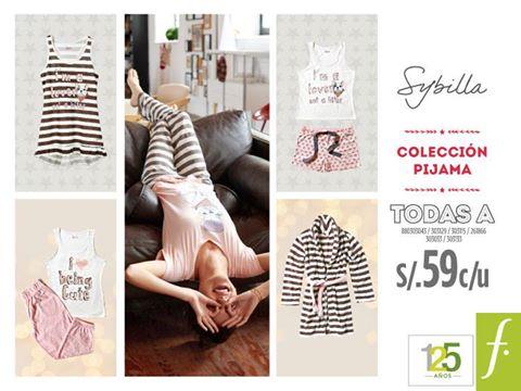 Pijamas a sólo S/. 59.00