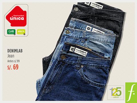 Jeans a sólo S/. 69.00