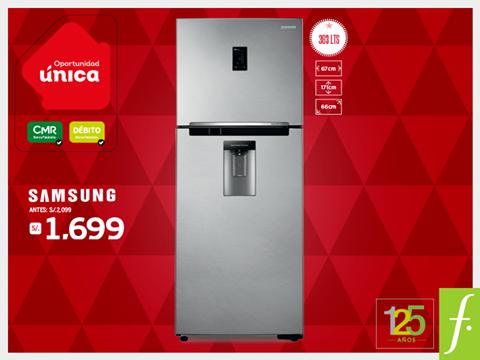 Refrigeradora Samsung a sólo S/. 1699.00