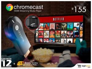 ChromeCast a sólo S/. 155.00