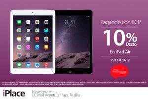 iPad Air con un 10% de descuento